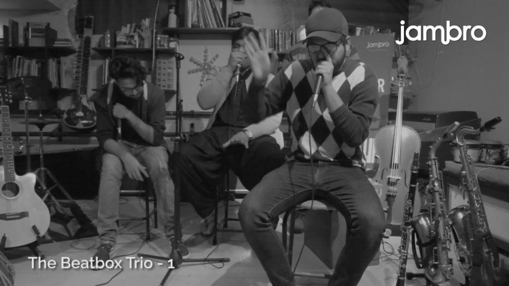 Beat Box Trio, Jambro – Live & Improvised @Keynotes Karachi